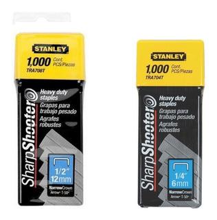 Tr 250 Grapas 1/4 + 1/2 Para Engrapadora Stanley Tr150 Tr250