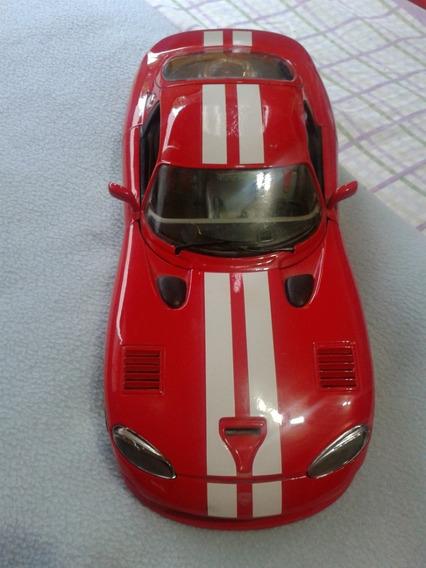 Carro De Coleccion Escala 1/18 Dodge Viper Gts