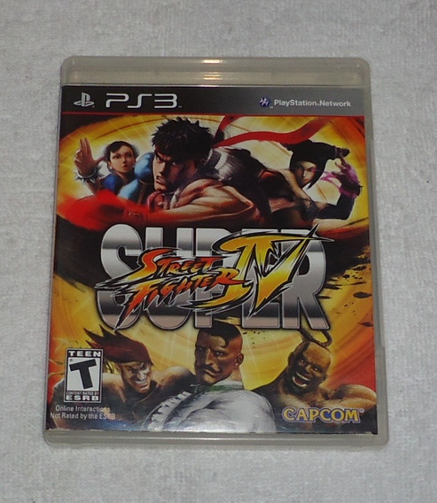 Super Street Fighter Iv Ps3 ** Leia