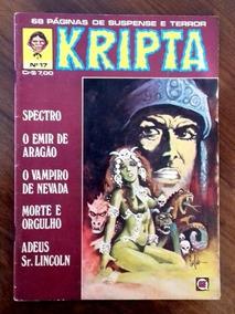 Revista Kripta 17 (rge-1977) -ótimo Estado Com 66 Pgs