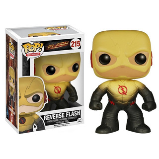 Funko Pop! Reverse Flash #215 Flash Television Dc Comics