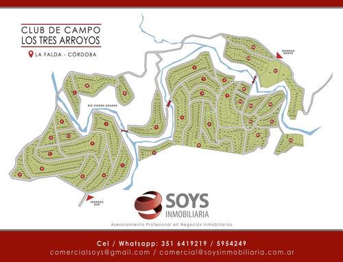 Lote/s Club De Campo Los Tres Arroyos La Falda
