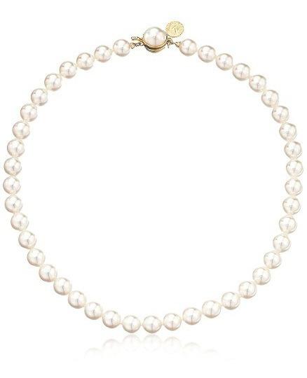 Majorica Mmajorica Mujer 1 Fila Perlas 8mm Collar