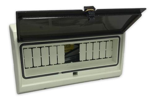 Imagen 1 de 10 de Caja Térmicas Embutir / Exterior 12 Módulos Ip65 Puerta Fume
