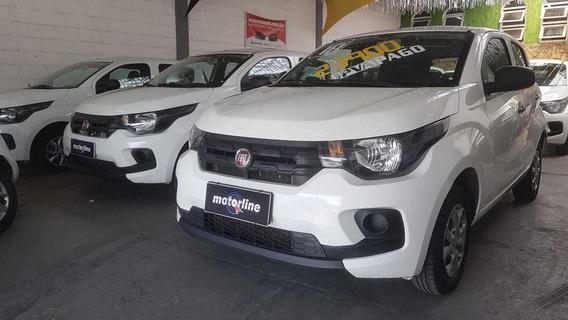 Fiat Mobi Easy 1.0 2018 Prata Ipva 2020 Pago Super Novo