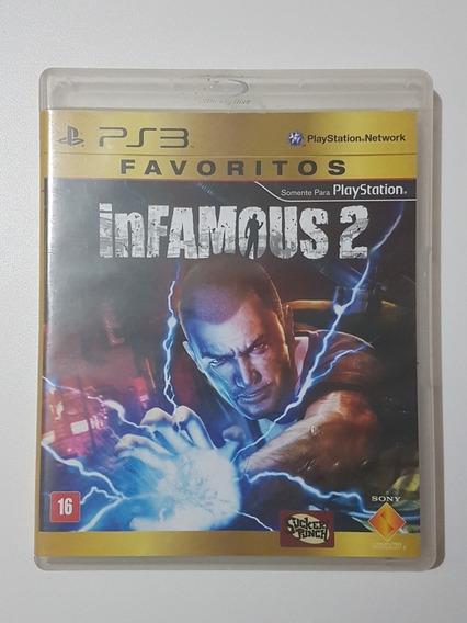 Capa Infamous 2 Original Para Playstation 3