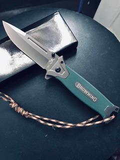 Canivete Browning Faca Selva Militar, Fabricação Original Ch