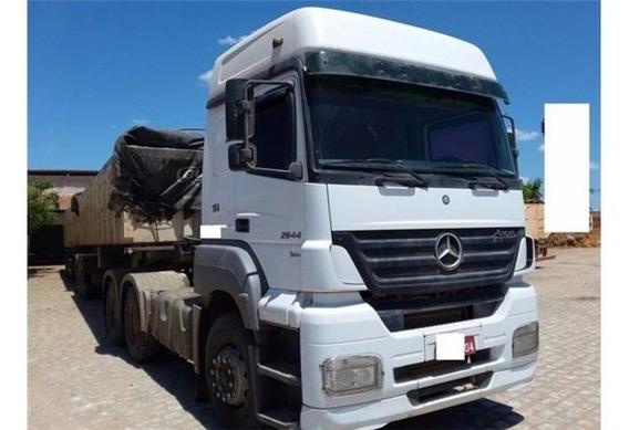 Mercedes-benz Mb 2644 6x4 2010 Aceitamos Carro Como Entrada