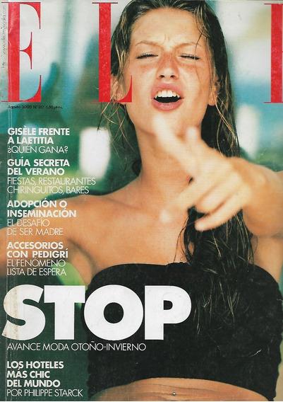 Elle Espanha 2000 Gisele Bundchen Frete Grátis