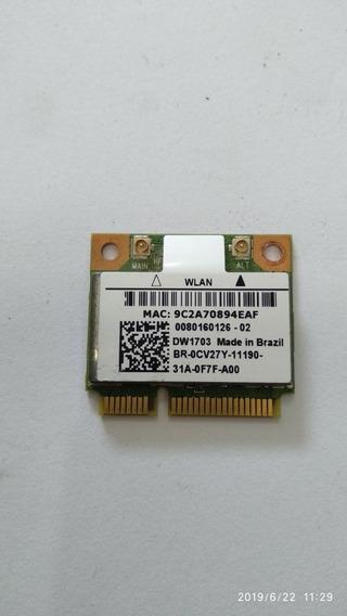 Placa Wireless Mini Pci Para Notebook Dell Inspiron 14z 5423