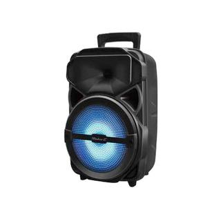 Bafle Portátil Karaoke Con Bluetooth + Usb + Fm + Mic