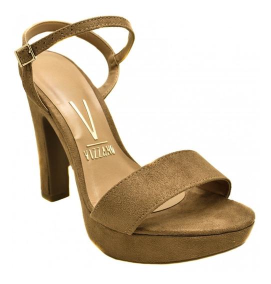 Sandalia Salto Alto Grosso Meia Pata Vizzano Feminin 6292100