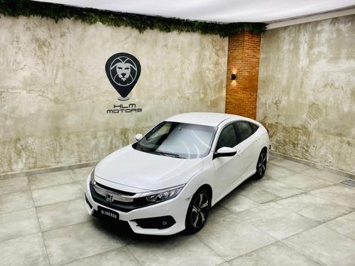 Honda Civic Exl 2018/2018 Aut. Branco 36mkms Blindado Un. Dn