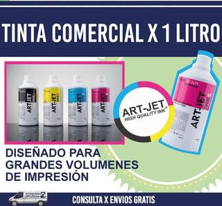 Tinta Para Epson/brother Linea Comercial Combo De 4 Litros