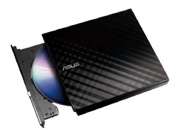 Drive Externo Dvd Asus Leitor/gravador Sdrw-08d2s-u S/juros