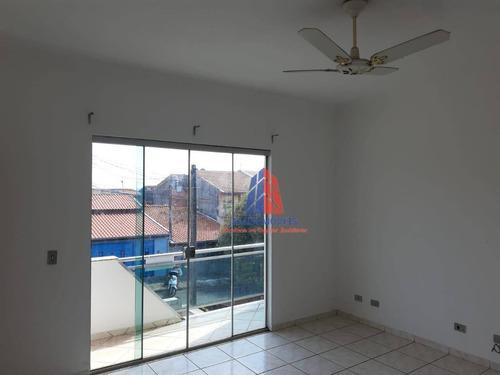 Imagem 1 de 18 de Apartamento Com 3 Dormitórios, 107 M² - Venda Por R$ 265.000,00 Ou Aluguel Por R$ 900,00/mês - Parque Residencial Jaguari - Americana/sp - Ap1159