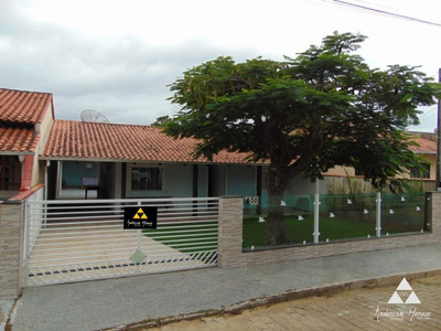Casa Com 3 Dormitórios À Venda, 180 M² Por R$ 297.000 - Centro - Penha/sc - Ca0301