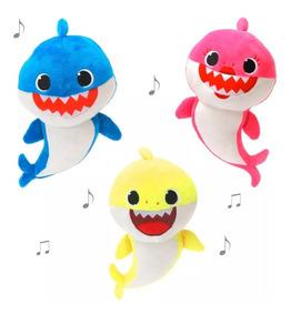 Musical! Pelúcia Baby Shark Tubarão - Unidade