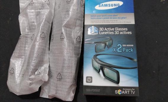 Óculos 3d Ativo Samsung Ssg-3050gb (pack C/ 2)