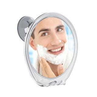 Espejo Ducha Fogless Con La Maquinilla De Afeitar Gancho Par