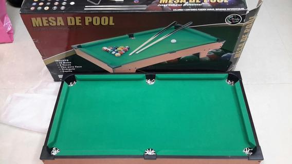 Mesa De Pool Jeidy Toys Con Todos Sus Accesorios, 100 Trumps