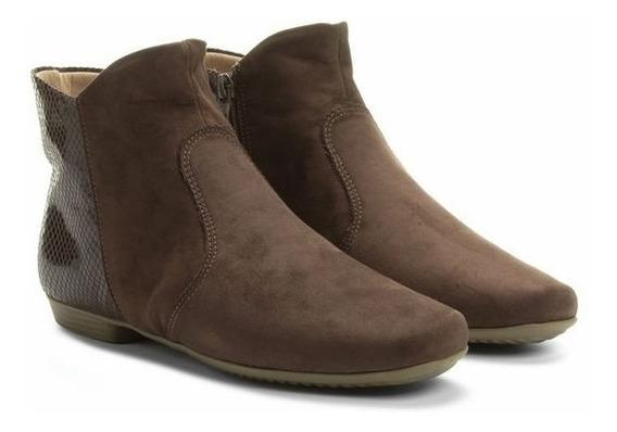 Bota Botineta Zapato Taco 2cm Corta Casual Importado !!