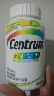 Centrum Adults (adulto) 200cp C/ Vitamina D 1000ui