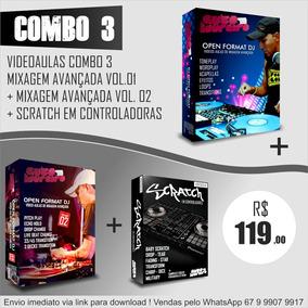 Mixagem Avançada Vol. 01 + Vol. 02 + Aulas Scratch (combo 3)