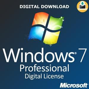 Licença Windows 7 Professional 32bits E 64bits C.garantia+nf
