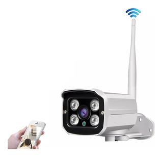 Camara Wifi Ip Detector Movimiento Exterior Micro Sd Vs Agu Seguridad Para Entrada Hogar Oficina Bodega Edificio