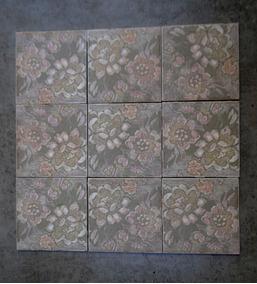 Azulejos Antigos Brilhocerâmica A48 15,3 X 15,3cm Lote De 9