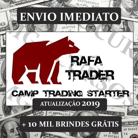 Rafa Trader Camptrading Starter+bônus+planilha Gerenciamento