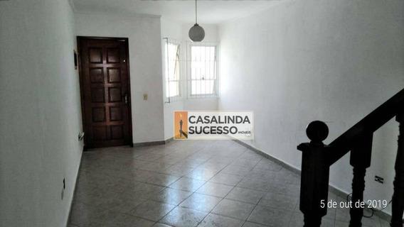 Sobrado Com 2 Dormitórios Para Alugar, 90 M² Por R$ 1.800/mês - Jardim Maringá - São Paulo/sp - So0964
