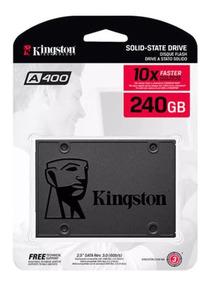 Ssd Kingston 240gb Sata 6gb/s 2.5 Pol. Lacrado A400