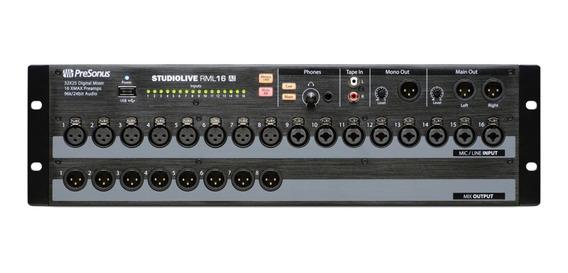 Mixer Digital Presonus Studiolive Rml16ai
