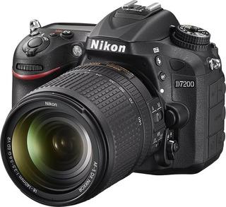 Cámara Nikon D7200 Con Lente 18-140mm