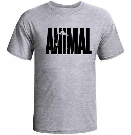 Camiseta Musculação Animal_pak_com Manga
