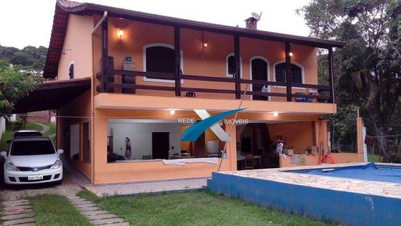 Sobrado À Venda 3 Quartos, 319 M² Por R$ 770.000 - Pilar Velho - Ribeirão Pires/sp - So0026