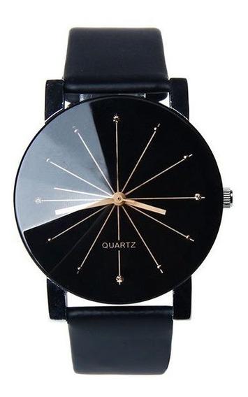 Relógio Feminino Quartz Barato Preto Clássico Elegante Moderno - Promoção Frete Grátis