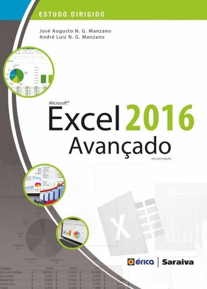 Estudo Dirigido De Microsoft Excel 2016 Avancado - Saraiva