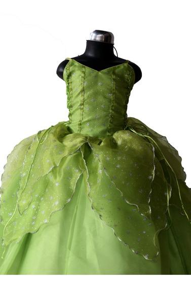 Vestido De Campanita (alta Costura)