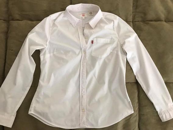 Camisa Levis Mujer Blanca Clásica