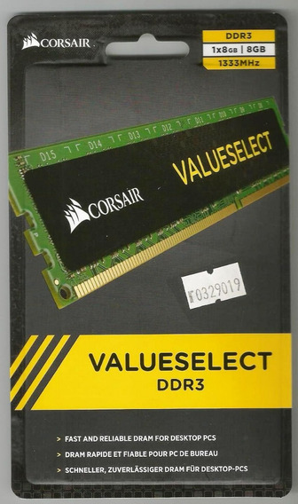 Memoria Ddr3 8gb 1600mhz Corsair
