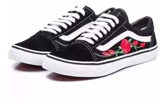 Tênis Vans Old Skool Feminino Florido Importado
