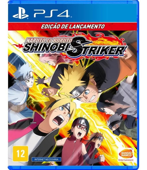 Naruto To Boruto Shinobi Striker Ps4 Lacrado