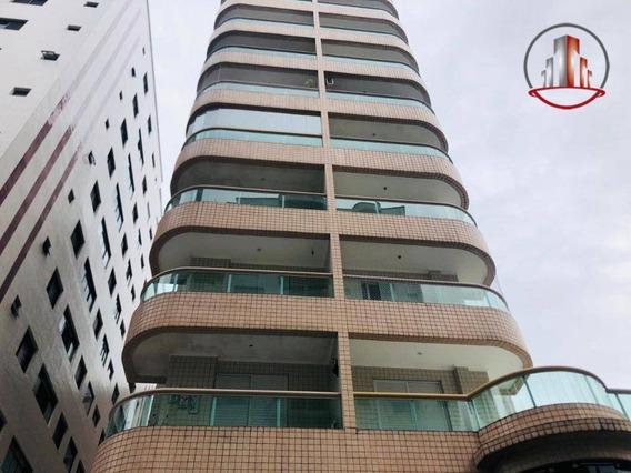 Apartamento Com 1 Dormitório À Venda, 55 M² Por R$ 180.000,00 - Tupi - Praia Grande/sp - Ap1869
