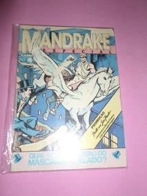 Hq Mandrake Especial N°8 Editora Globo Gibi