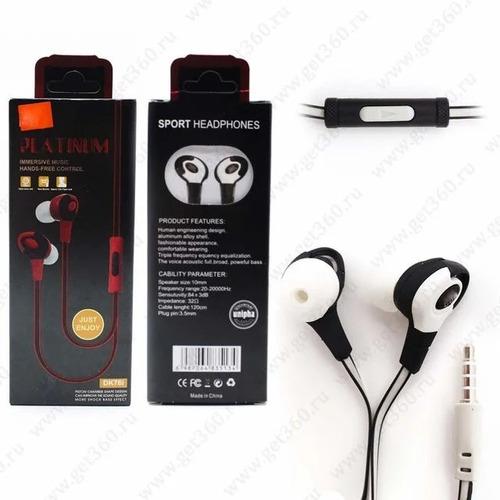 Fone De Ouvido Sport Platinum Headphones Dk76i