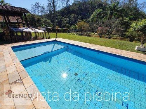 Imagem 1 de 17 de Chácara Com 3 Dormitórios À Venda, 4250 M² Por R$ 1.400.000,00 - Centro Ouro Fino Paulista - Ribeirão Pires/sp - Ch0112