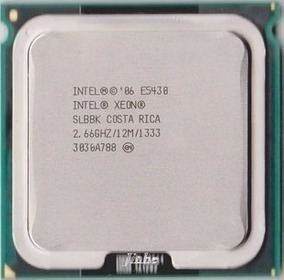 Processador Intel Xeon E5430 2.66 Ghz 12m De Cache Lga 771 ¨